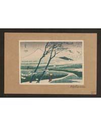 Fūkeiga, Photograph 01845V by Katsushika, Hokusai