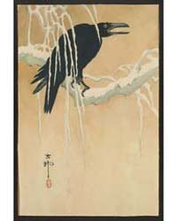 Yuki Yanagi Ni Karasu, Photograph 01852V by Library of Congress