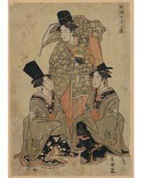 Fūryū Onna Shikisanba, Photograph 01954V by Utagawa, Toyokuni