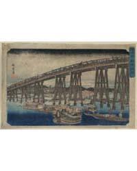 Ryōgokubashi Nōryō, Photograph 01981V by Andō, Hiroshige