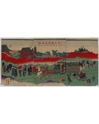 Toykyō Tetsudō Basha Zu Sensōji Kei, Pho... by Library of Congress