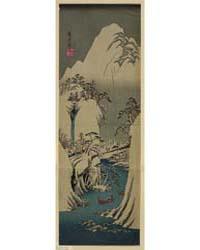 Fujigawa Jōryū Secchū, Photograph 02033V by Andō, Hiroshige