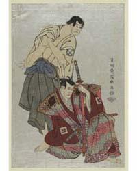 Sandaime Ichikawa Yaozō (No Fuwa Banzaem... by Tōshūsai Sharaku