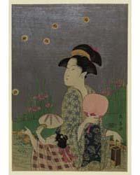 Hotarugari, Photograph 02057V by Eishōsai Chōki