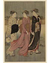 Ōkawabata Yūryō, Photograph 02076V by Torii, Kiyonaga