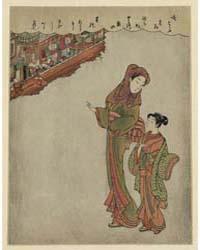 Tamagiku Dōrō, Photograph 02080V by Suzuki, Harunobu