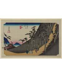 Nissaka, Photograph 02086V by Andō, Hiroshige