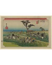 Chiryū, Photograph 02104V by Andō, Hiroshige
