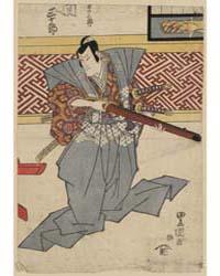 Seki Sanjūrō No Izumi No Saburō, Photogr... by Utagawa, Toyokuni