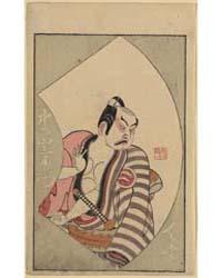 Nakajima Mihoemon, Photograph 02207V by Ippitsusai, Bunchō