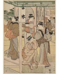 Miyamoto Misesaki, Photograph 02214V by Katsukawa, Shunchō