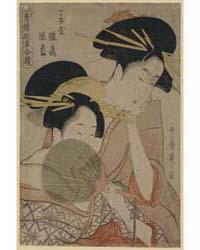 Chōjiya Hinazuru Hinamatsu, Photograph 0... by Kitagawa, Utamaro
