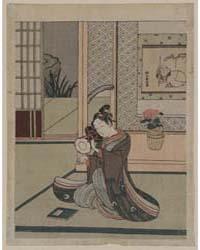 Kotsuzumi O Utsu Wakashū, Photograph 022... by Suzuki, Harunobu