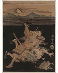 Sanada No Yoichi to Matano No Gorō, Phot... by Katsukawa, Shunshō