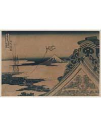 Tōto Asakusa Honganji, Photograph 02310V by Katsushika, Hokusai