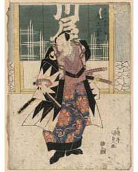 Onoe Kikugoro No Ōboshi Yuranosuke, Phot... by Utagawa, Toyokuni