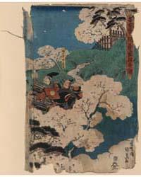 Nakoso No Seki Yoshiie Eika No Zu, Photo... by Utagawa, Toyokuni