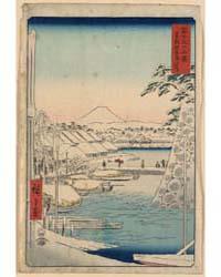 Tōto Sukiyabashi, Photograph 02366V by Andō, Hiroshige