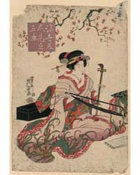 Ukiyo Bijin Mitate Sankyoku, Photograph ... by Ikeda, Eisen