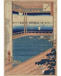 Tsuki No Misaki, Photograph 02387V by Andō, Hiroshige