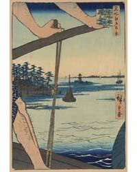 Haneda No Watashi Benten No Yashiro, Pho... by Andō, Hiroshige