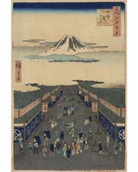 Surugachō, Photograph 02408V by Andō, Hiroshige