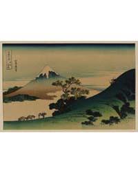 Kōshū Inume-tōge, Photograph 02455V by Katsushika, Hokusai