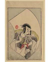 Nakajima Kanzaemon, Photograph 02504V by Katsukawa, Shunshō