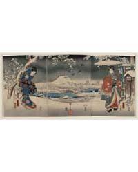 Fūryū Genji Yuki No Nagame, Photograph 0... by Utagawa, Toyokuni