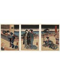 Namiwa No Bessō Akebono No Zu, Photograp... by Utagawa, Toyokuni