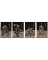 Saitō Go Kunitake Tada No Kurando Yukits... by Utagawa, Kunisada