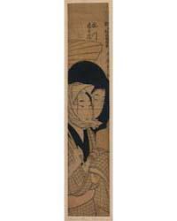 Umegawa Chūbei, Photograph 02667V by Kitagawa, Utamaro