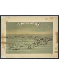 A Flotilla of Steamships Sailing Under t... by Library of Congress