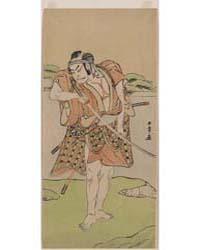Nakamura Nakazō, Photograph 02698V by Katsukawa, Shunshō