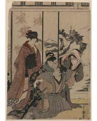 Susu Harai, Photograph 02715V by Kitagawa, Utamaro