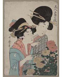 Chōyō, Photograph 02736V by Kitagawa, Utamaro