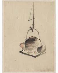 Bunbuku Chagama, Photograph 02819V by Katsushika, Hokusai