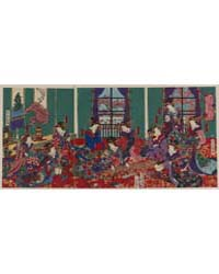 Shi-yosiwara Edochō Kinpeirō, Photograph... by Utagawa, Yoshitora