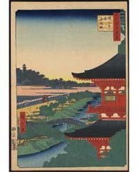 Zōjōji Tō Akabane, Photograph 02948V by Andō, Hiroshige