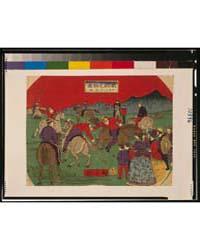 Igirisu Tame Tori, Photograph 3G10396V by Utagawa, Hiroshige