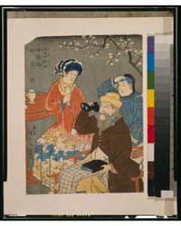 Amerika, Furansu, Nankin, Photograph 3G1... by Utagawa, Hiroshige