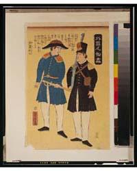 Gaikoku Jinbutsu Zukushi, Amerika, Photo... by Utagawa, Yoshitora