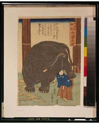 Chūtenjiku Hakurai Ōzō No Zu, Photograph... by Utagawa, Yoshitoyo