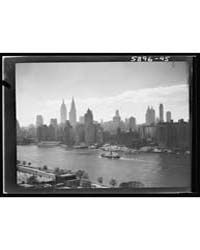 New York City Views, Photograph 7A01938V by Genthe, Arnold