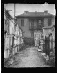 St. Louis Cemetery, New Orleans, Photogr... by Genthe, Arnold