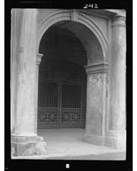 Entrance Gateway of the Cabildo, New Orl... by Genthe, Arnold