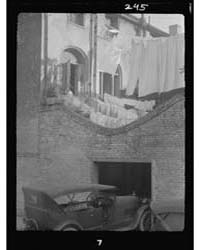 Courtyard with a Garage, New Orleans, Ph... by Genthe, Arnold