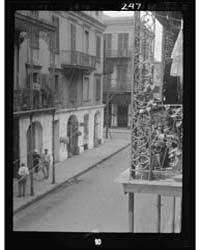 600 Block of Royal Street, New Orleans, ... by Genthe, Arnold