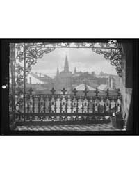 A Vista Through Iron Lace, New Orleans, ... by Genthe, Arnold