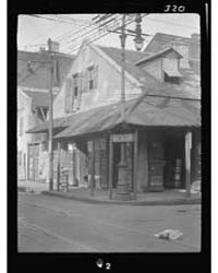 Corner Store in the French Quarter, New ... by Genthe, Arnold